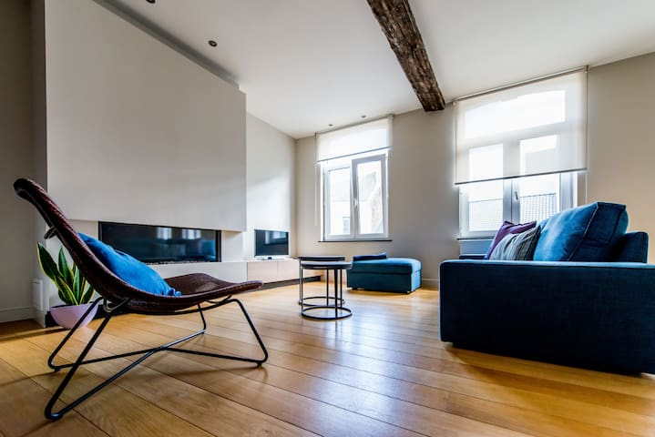 Apartment De Cat (5p) in the heart of Hasselt