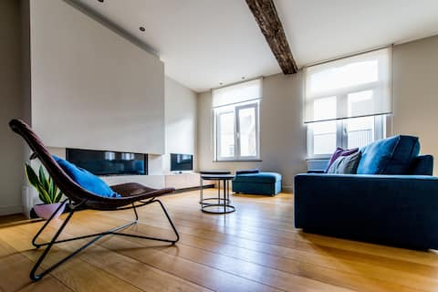 Apartment De Cat (5p) in the heart of Hasselt