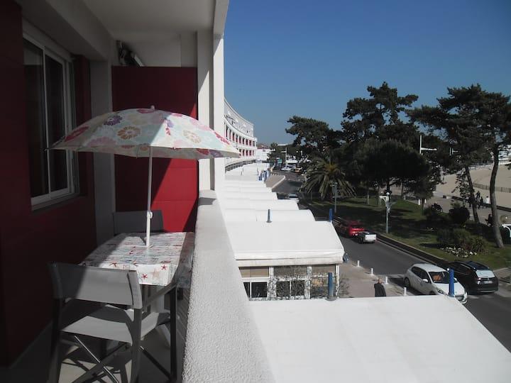 Appartement face à la plage de Royan