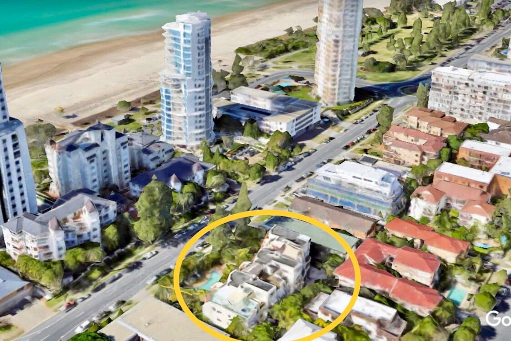 Apartment block conveniently located close to the beach as well as other popular spots across Broadbeach.