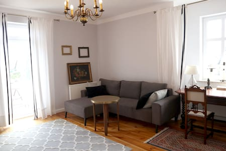 3R apartment with fireplace incl. Wlan and Netflix