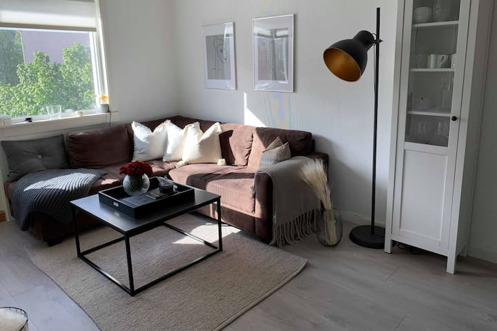 Modern apartment in the center of Trondheim