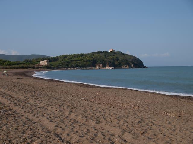spiaggia a 150m