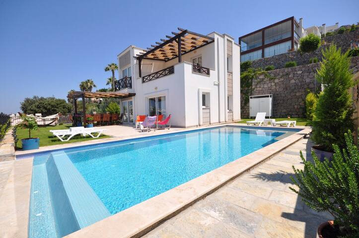 Luxury Villa with Private Pool in Bodrum, Turkey