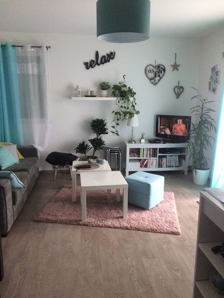 Appartement T2 + parking+terrasse proche Toulouse