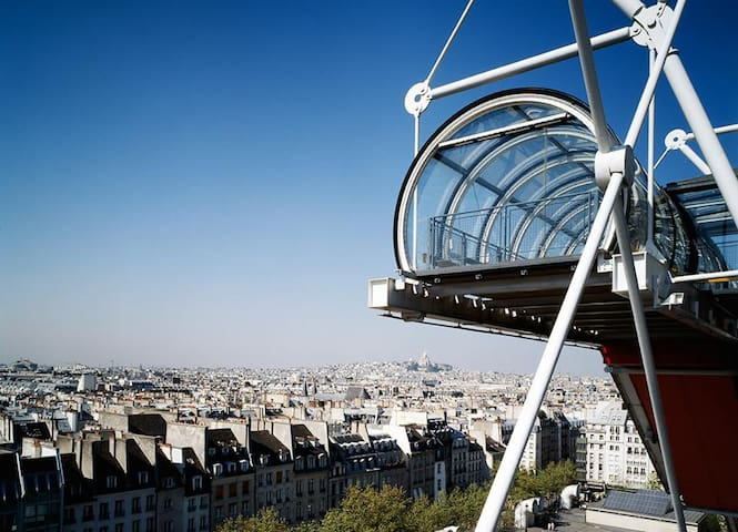 View from Georges Pompidou Center