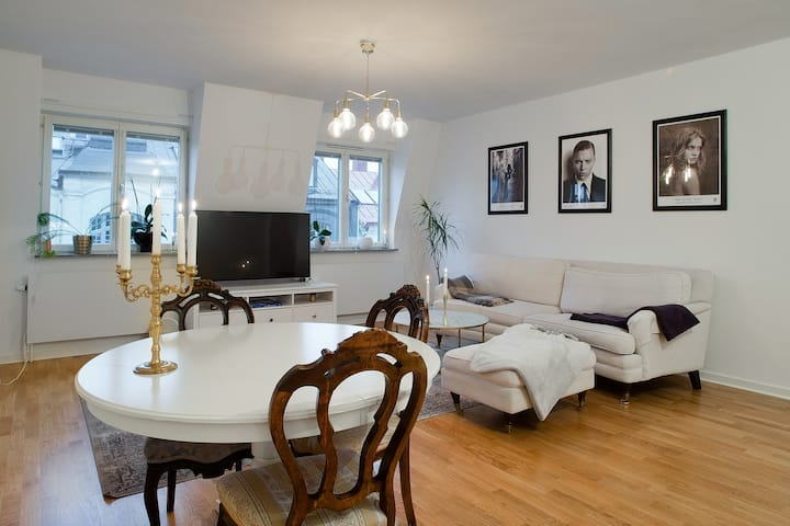 Nice room in big apartment, Stockholm City centre