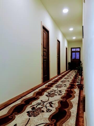 Warm hospitality in a cozy house in Garni, Armenia