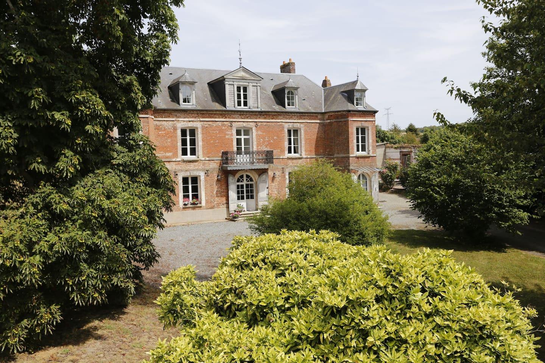 La maison date du 19e siècle