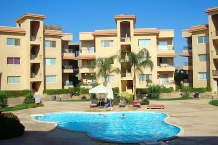 Trendy pool view appartment in Sierra Nabq sharm