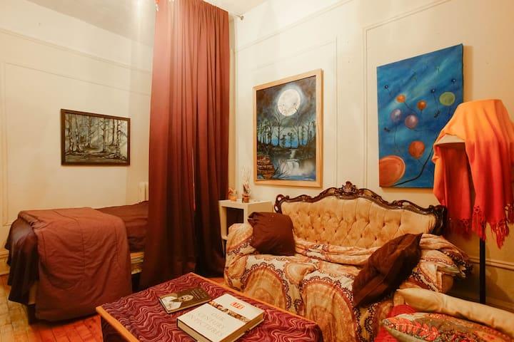 Adorable and Artistic Studio - New York - Wohnung