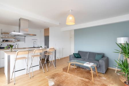 LA PEROUSE - Apt 2 bedrooms, parking, near Rennes
