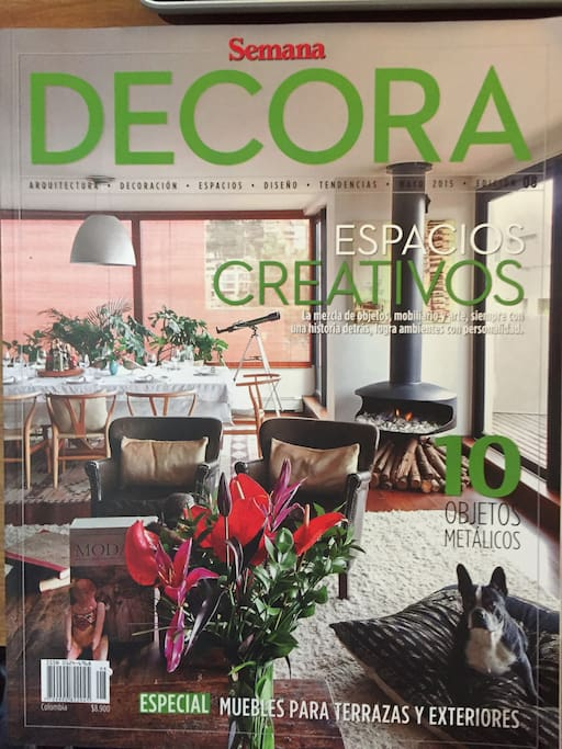 Cover to te Top Decoration Magazine