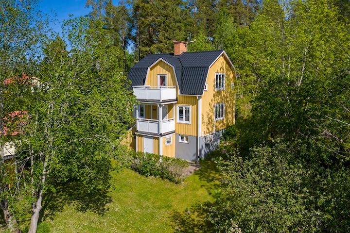 Haus (7 pers) mit Sauna & Seenähe;  (sauna/ lake)