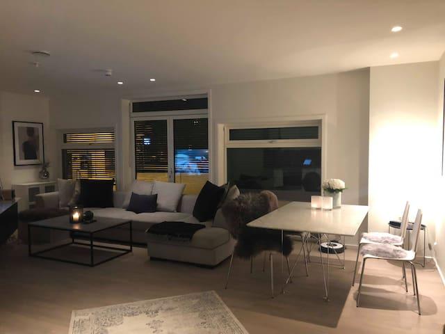 Moderne og koselig leilighet i hjertet av Gjøvik