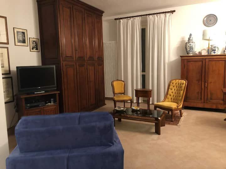 A casa di Alda: vista e silenzio in pieno centro