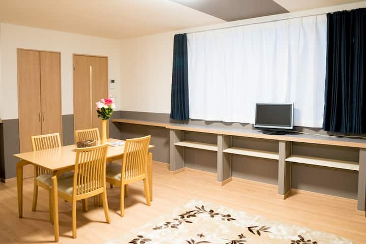 stay in Biei Furano 202 Gd location cozy apt w/p