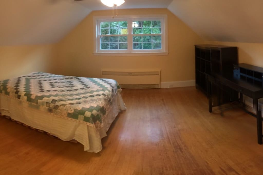Your room: 2nd floor, furnished with full-sized bedroom set