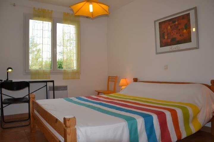 chambre 1:  lit en 160