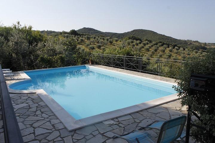 Intera villa Toscana  piscina privata 10 persone