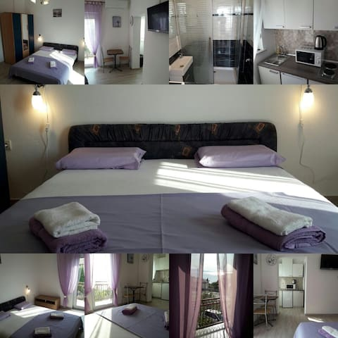 Studio apartman za max 3 osobe - Senj - Huis