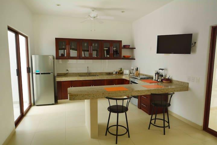 casa luz de luna en zihutanejo - Zihuatanejo - Apartamento