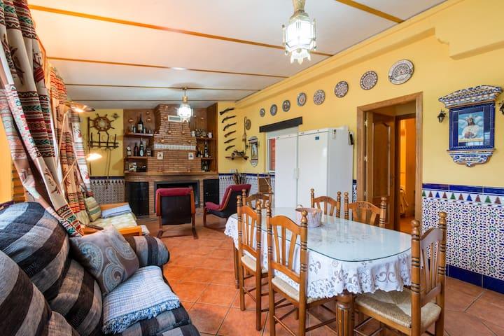 Haus auf Pferderanch zu vermieten,  - La Zubia - Haus