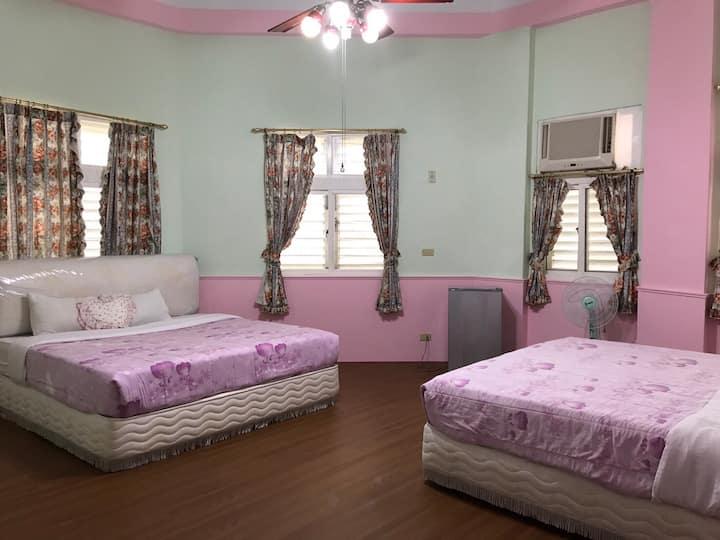 歐風4人房間