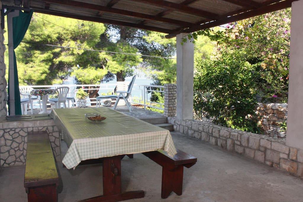 Terrace 1, Surface: 23 m²