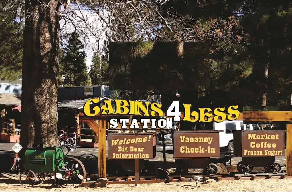 Cabins 4 Less , More cabins are available call and ask, Our name is easy to find, Quiet Family Cabins a must, 5 Big Bear Locations including a lake front and village,
