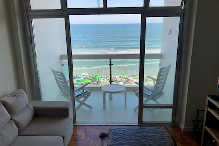Apartment facing the sea, pitangueiras beach.