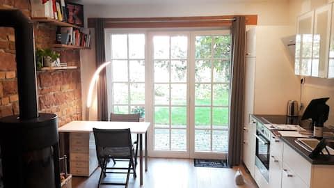 Wunderschönes Apartment mit Kamin in alter Scheune