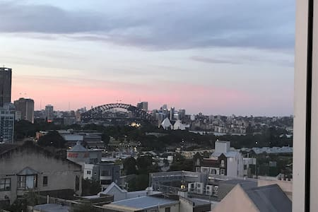 Stunning loft apt in Darlinghurst w/ harbour view - Darlinghurst - Loft