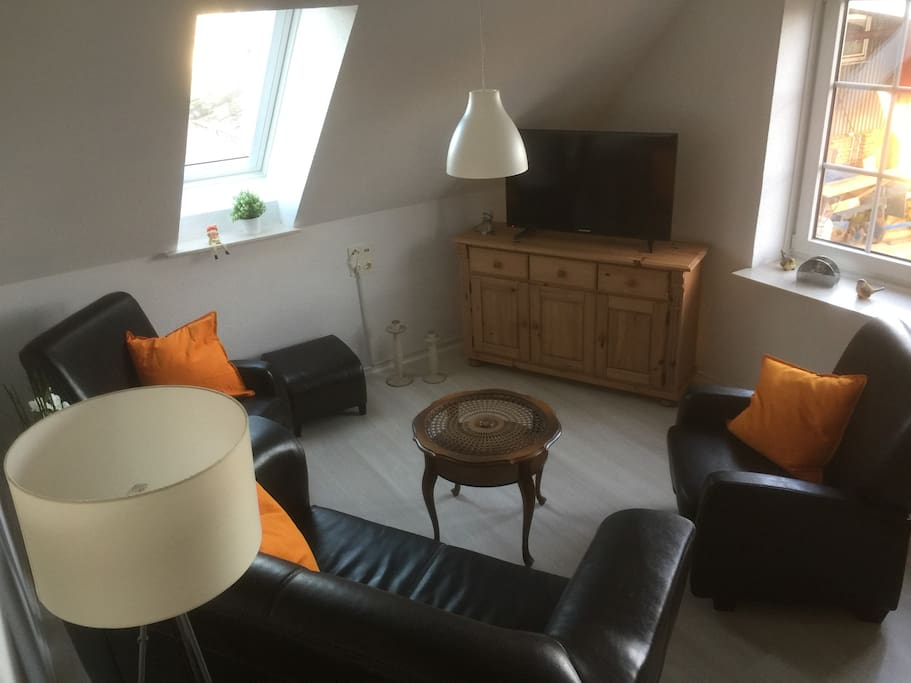 Wohnzimmer (1 Klappbett)