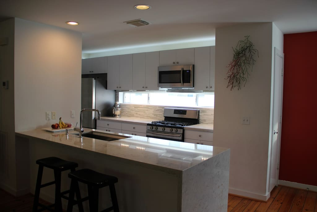 Kitchen remodeled in 2016