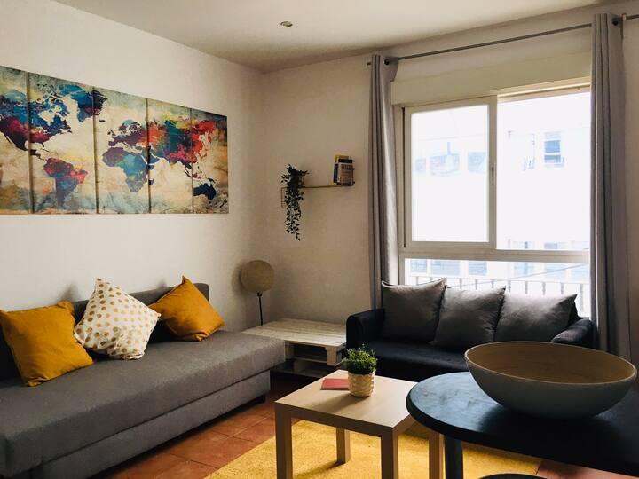 Cómodo y acogedor piso en el centro de Madrid