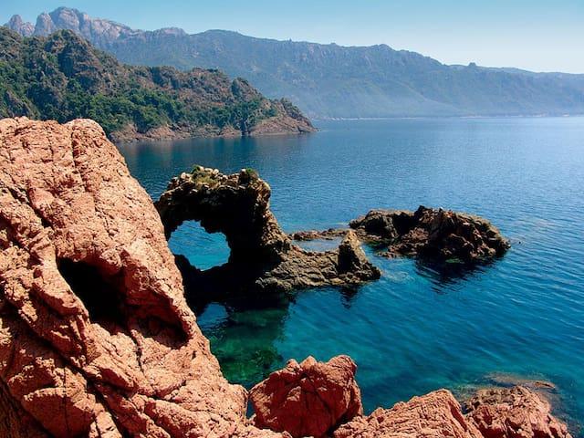 Splendide villa à 5 minutes de la mer - Sollacaro - วิลล่า