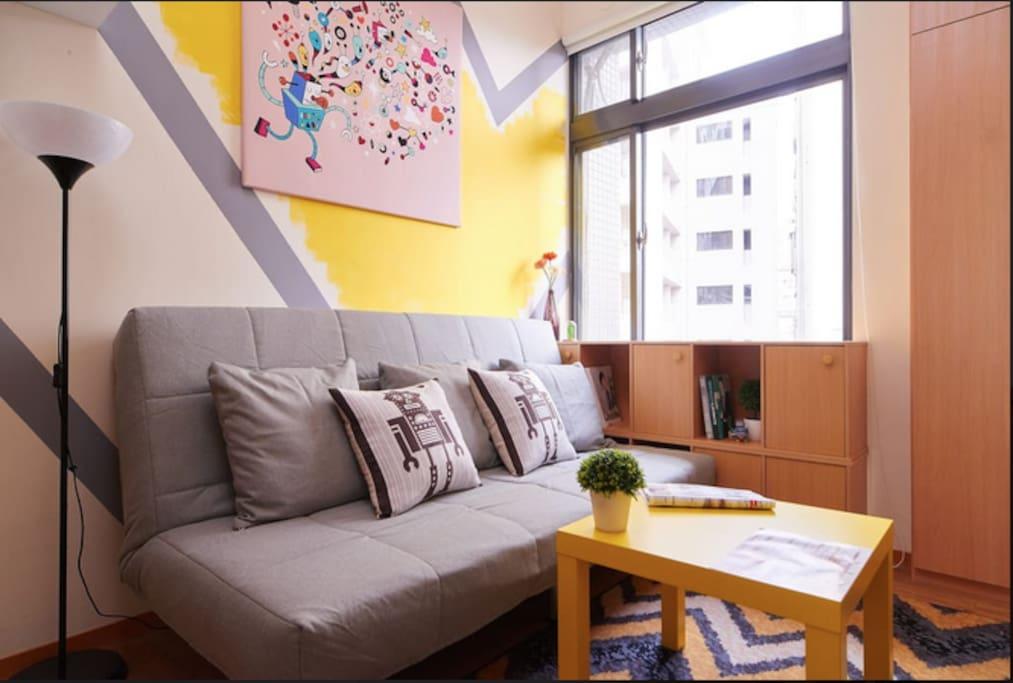舒適客廳/Comfy  Living room