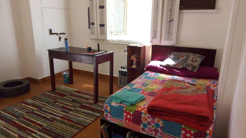 ● Sunny Pharoah's room in the heart of cairo
