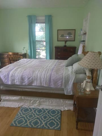 New and discounted amenitiful bedroom♥of downtown