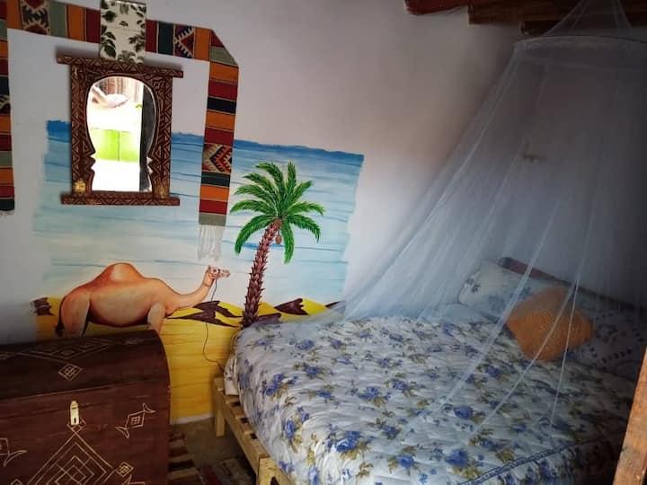 Maison Traditionnelle, Oasis de Tamnougalt