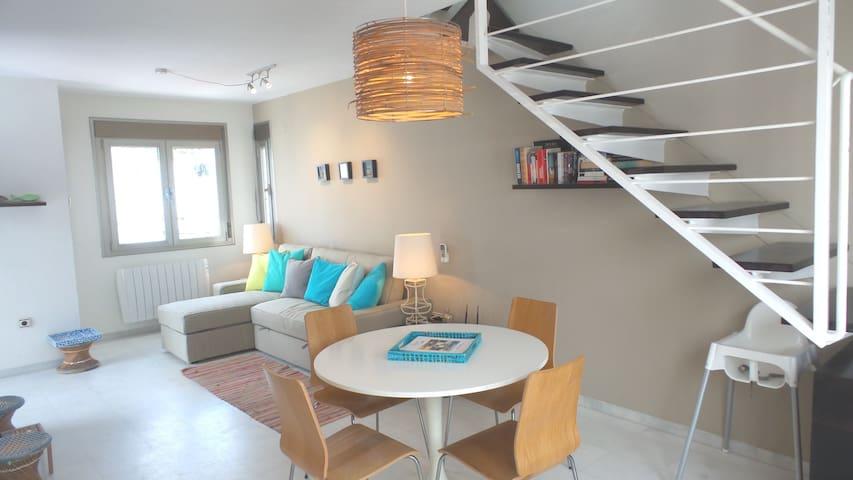 Modern beachy style living room (picture taken september 2016)