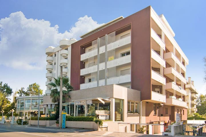 Luxurious Apartment in Rimini Italy with Swimming Pool