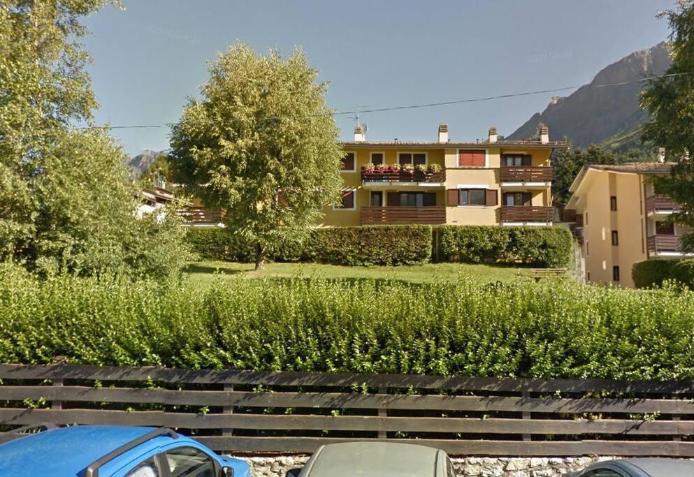 Vista frontale complesso residenziale San Sebastiano