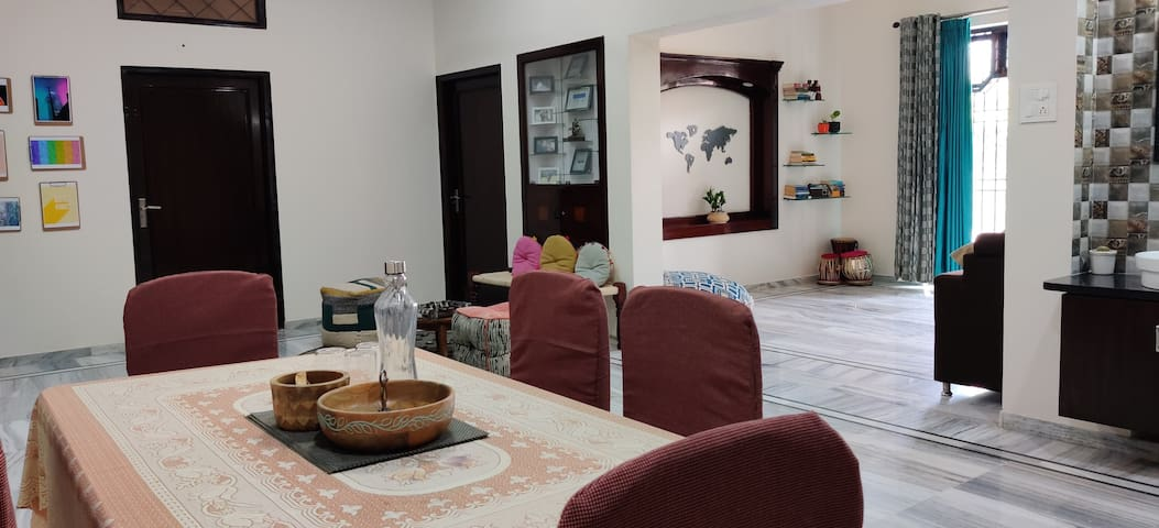 Home Stay with Contemporary Indian Family- Green