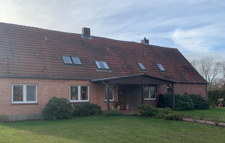 Spacious holiday flat in Holtorf at the Elbe river