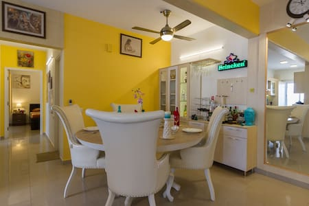 Private Room with Hill View,Near Bangalore Airport - Bangalore