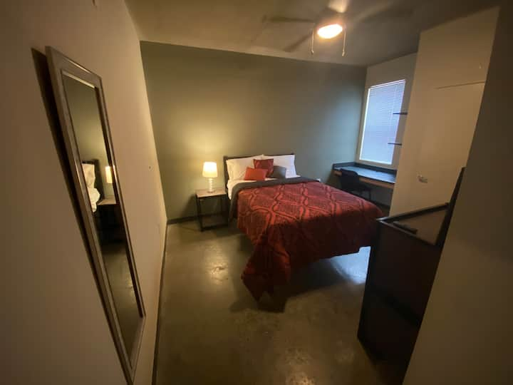 West Midtown Loft Space Private Bed and Bath
