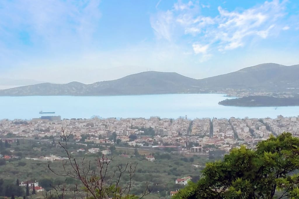 Beautifull view of Volos