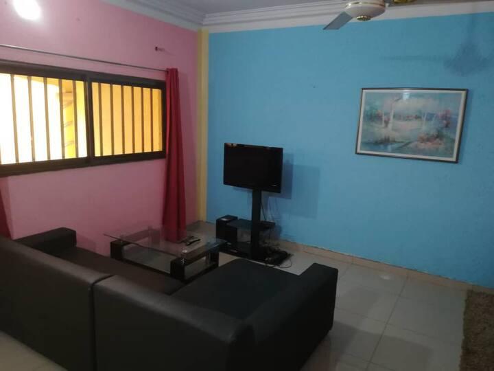 villa meublée climatisée lomé Agoè